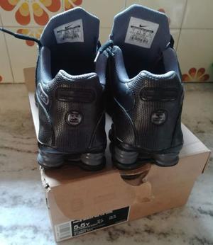 zapatillas nike shox originales talle 37