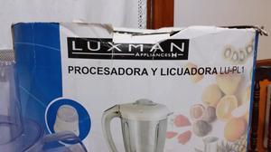 LUXMAN PROCESADOR Y LICUADORA LU-PL1