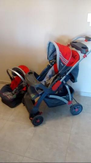 Vendo carrito de bebe y huevito para coche