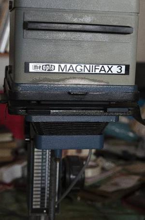 Ampliadora Meopta Magnifax 3 De Formato Medio Y 35 Mm