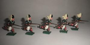 Antiguos Soldaditos Highlanders De Plomo 50's Reyco Terry