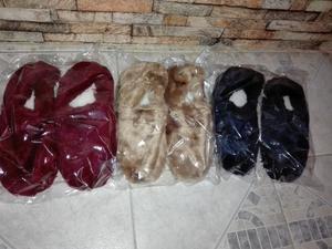 Pantuflas de Peluche cerradas con Corderito