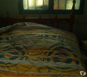 Vendo cama de dos plazas