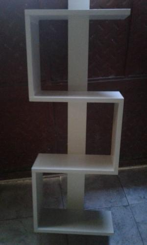 oferta repisa 4 estantes nueva en melamina blanca