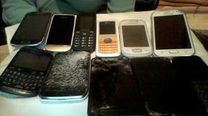 permuto lote de 12 celulares p repuesto x celular android