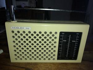 ANTIGUA RADIO NOBLEX GIULIA DOS BANDAS AM FM