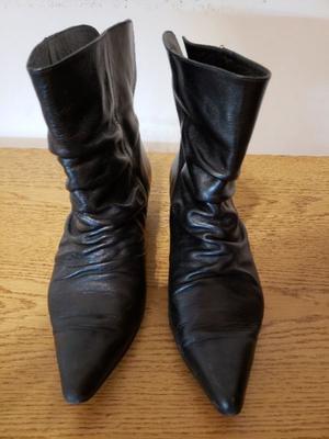 Botas de caña corta - Nro 38 - Usadas