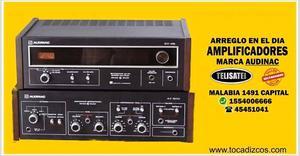 Equipos de Audio Audinac Servicio tecnico