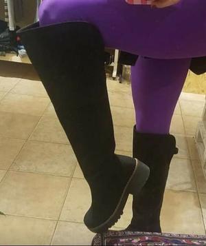 Liquido botas bucaneras como nuevas impecables!!!