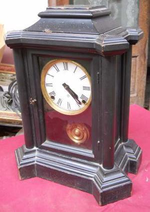 Reloj De Mesa O Chimenea E. Ingraham Usa Antiguo.-