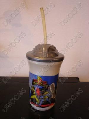 Vaso Plastico Pepsi Power Rangers - Trini Amarillo