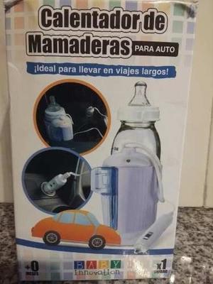 Vendo calentador de mamaderas para auto