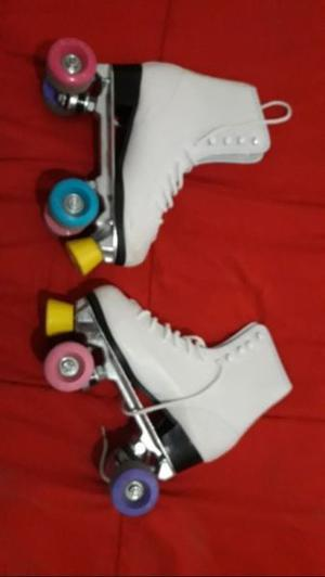 Vendo patines talle 38 impecables
