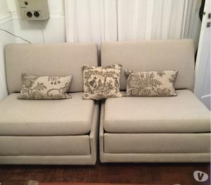 Vendo sillones cama impecables