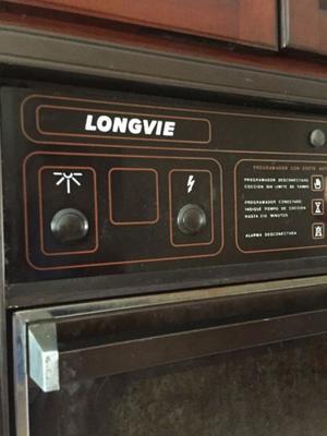 juego de horno y anafe longvie Bronze line