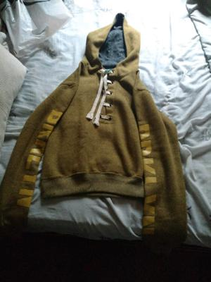vendo buzo de algodón c/capucha