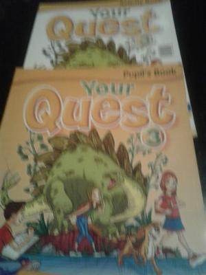 your quest 3 activity + pupil book