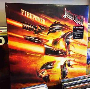 Judas Priest Firepower Vinilo Doble Black 2 Lp Nuevo Stock