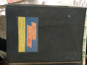 Manual de despiece de Fiat 600 R - original