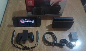 Nintendo Switch Excelente Estado En Caja + Bloodstained -