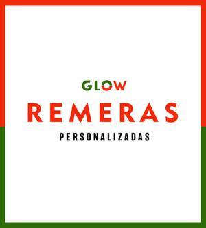 REMERAS PERSONALIZADAS - Glow.