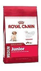 ROYAL CANIN MEDIUM JUNIOR X 15KG ENVIOS A DOMICLIO SIN CARGO