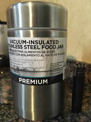 Termo para comida de acero importado