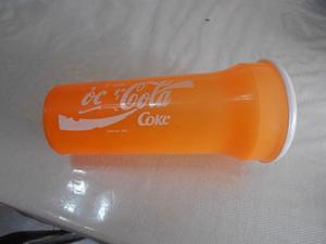 Vaso De Plastico De Coca Cola De Medio Litro
