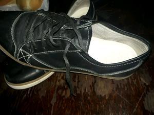 Vendo zapatillas de cuero número