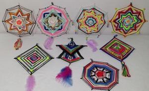 Lote Mandalas Aztecas - Huichol