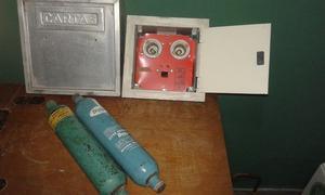 Caja para cartas y caja para porta fusibles