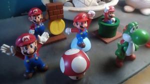 Colección de juguetes Super Mario (Mc Donals)