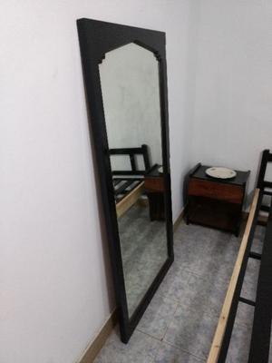 Espejo con marco de madera, medidas grandes!