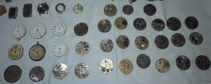 Relojes (lote de antigüedades) VENDO TODO JUNTO