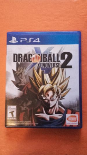 Vendo Dragon Ball Xenoverse 2 PS4 Perfecto Estado