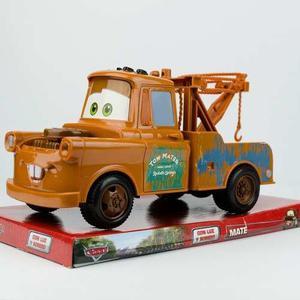 Cars Camioneta Grua Mate 18 Cm A Fricción Supertoys Once