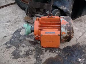 Motor Eléctrico Trifasico Siemmens 10 Hp  Rpm Impecable