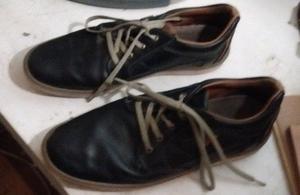 Zapatillas urbanas de cuero 46 poco uso