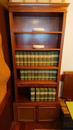 Antiguo estantes con alzada 5 estantes más bajo mueble