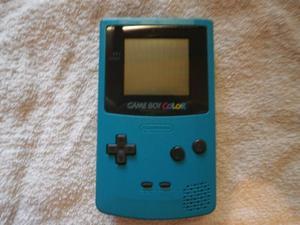 Game Boy Color Con Caja Y Manueales + 3 Juegos