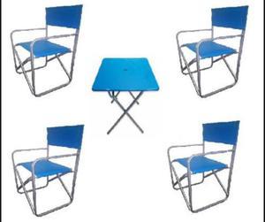 Sillas de jardin posot class for Mesa y sillas jardin