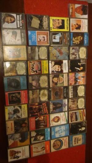 Para coleccionistas liquido lote x 41 de casettes de varios
