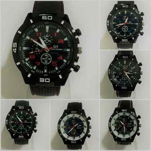 Reloj Pulsera Hombres Diseño Deportivo Gt Por 15 X Mayor