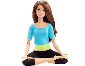 Barbie Made To Move Articulada Castaña Original Mattel