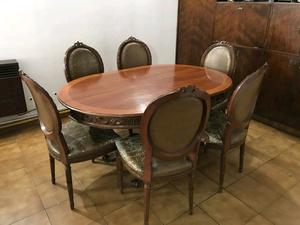 Mesa comedor estilo y sillas