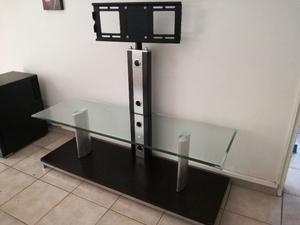 Mueble living con soporte para tv