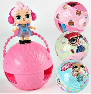 Muñecas Lol Set X 3 Esferas
