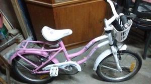 Bicicleta de nena rodado 16 nueva sin uso