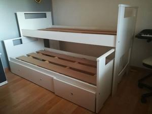Vendo cama nido de 1 plaza excelente estado