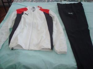 Conjunto Puma Original-campera Y Pantalon